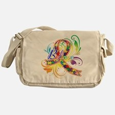 Autism Awareness Believe Messenger Bag