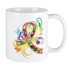 Autism Awareness Believe Mug