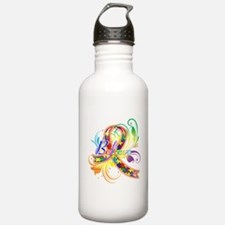 Autism Awareness Believe Water Bottle