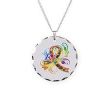 Autism Awareness Believe Necklace