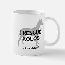 I RESCUE Xolos Small Mugs