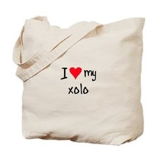 I LOVE MY Xolo Tote Bag