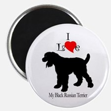 Black Russian Terrier Magnet