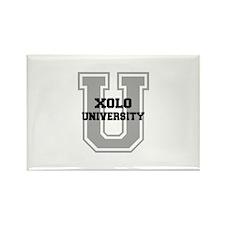 Xolo UNIVERSITY Rectangle Magnet