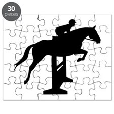 Hunter Jumper Over Fences Puzzle