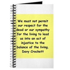 Davy Crockett Journal