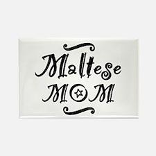 Maltese MOM Rectangle Magnet