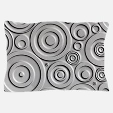 Metallic Circles Pillow Case