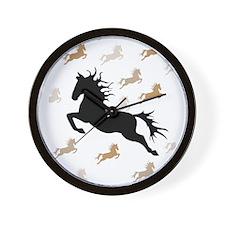 Cute Lipizzan Wall Clock