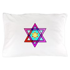 Jewish Star Of David Pillow Case