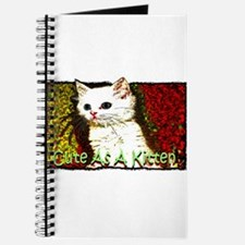 cute as a kitten Journal