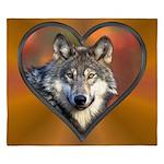 Wolf Heart King Duvet