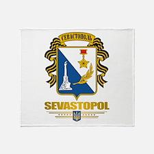 """""""Sevastopol"""" Throw Blanket"""