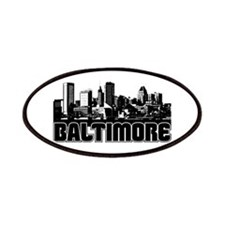 Baltimore Skyline Patches
