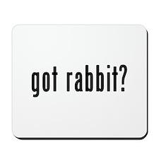 GOT RABBIT Mousepad