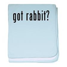 GOT RABBIT baby blanket