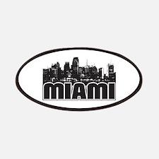 Miami Skyline Patches
