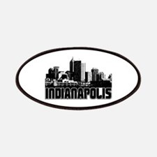 Indianapolis Skyline Patches