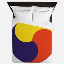 Sam Taegeuk Queen Duvet