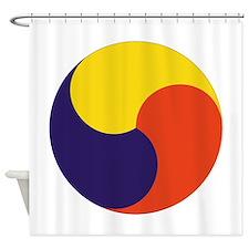 Sam Taegeuk Shower Curtain
