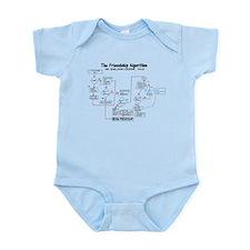 The Friendship Algorithm Infant Bodysuit