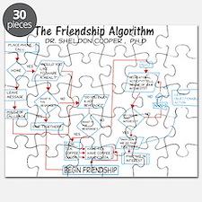 The Friendship Algorithm Puzzle