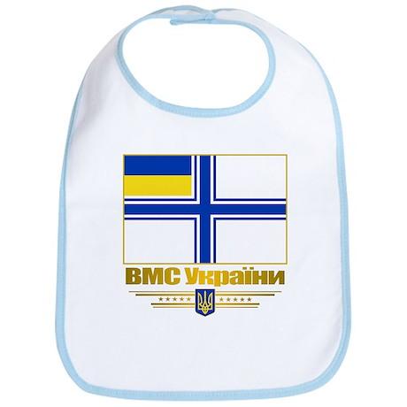 """Ukraine Naval Ensign"" Bib"