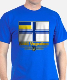 """Ukraine Naval Ensign"" T-Shirt"