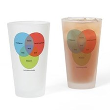 The Nerd Paradigm Drinking Glass