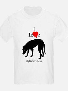 Blackmouth Cur Kids T-Shirt
