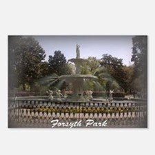 Forsyth Park Fountain Postcards (Package of 8)