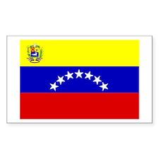 Venezuela 7 stars Rectangle Decal