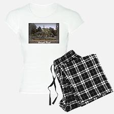 Forsyth Park Fountain Pajamas