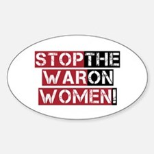 Stop The War on Women Decal
