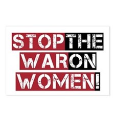 Stop The War on Women Postcards (Package of 8)