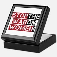 Stop The War on Women Keepsake Box