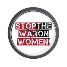 Stop The War on Women Wall Clock