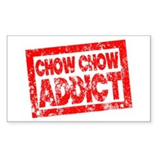 Chow Chow ADDICT Decal