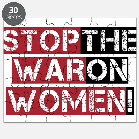 Stop The War on Women Puzzle