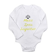 Cute Law students Long Sleeve Infant Bodysuit