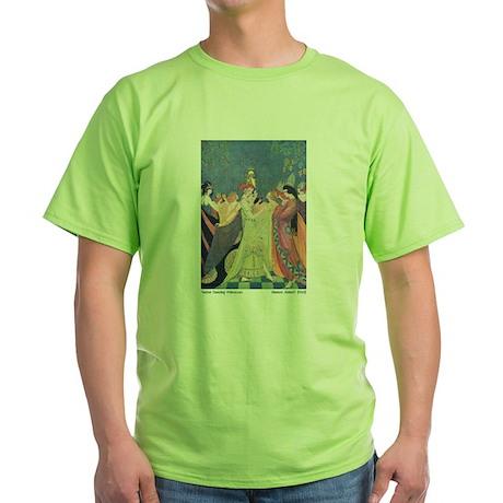 Abbott's Dancing Princesses Green T-Shirt