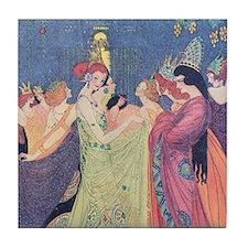 Abbott's Dancing Princesses Tile Coaster