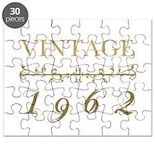 1962 Vintage Gold Puzzle