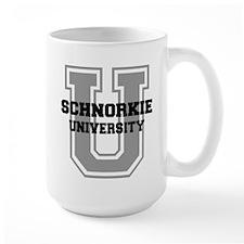 Schnorkie UNIVERSITY Mug