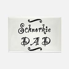 Schnorkie DAD Rectangle Magnet