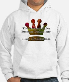 """I Rule The Database"" Jumper Hoody"