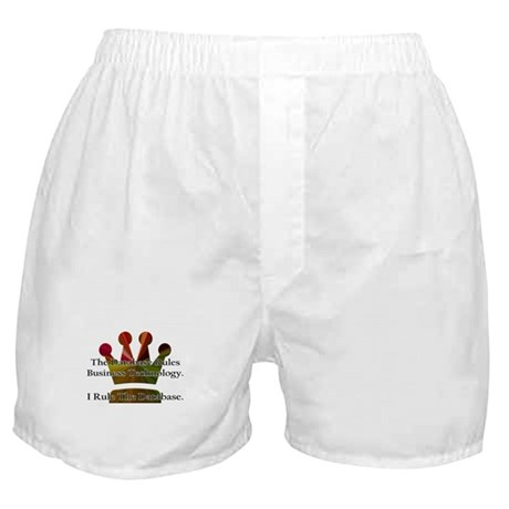 """""""I Rule The Database"""" Boxer Shorts"""