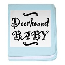 Deerhound BABY baby blanket
