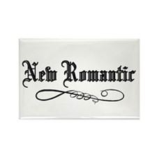 New Romantic Rectangle Magnet (100 pack)