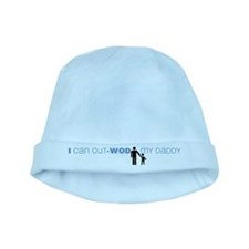 I Can Out-WOD My Daddy baby hat